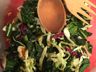Recipe: Fresh Kale Salad