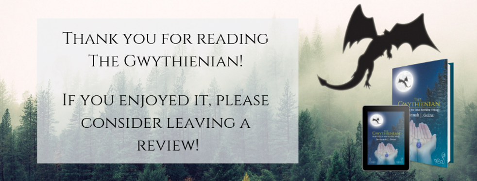 Thank you for reading The Gwythienian!.p