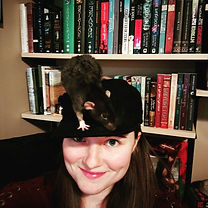 Rat hat selfie! Starting my birthday off