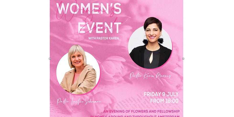 Women's Event with Ps Karen