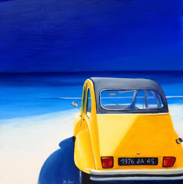 HST 80x80 Bleu citron...