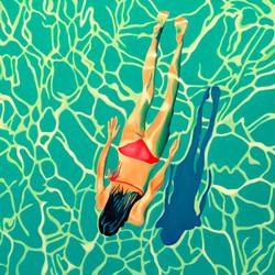 HST 100x100  Swimmin' pool...  #180123