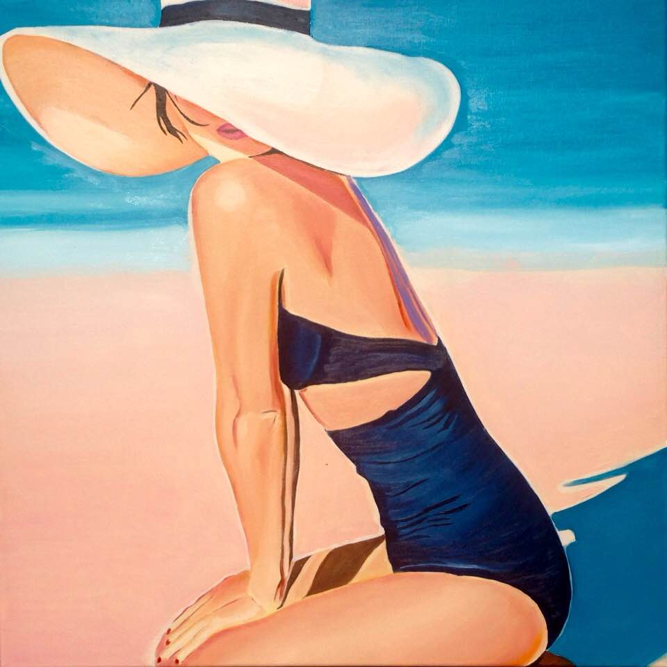HST 80x80 Summertime blue...