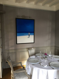 Salle du restaurant Le Tastevin