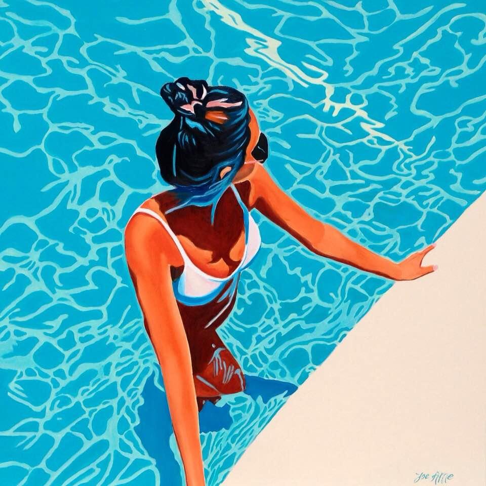HST 100x100 Swimmin' pool... #200623