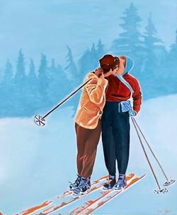 HST 100x120 Winter Kiss...