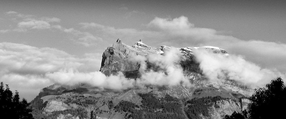 Des Fiz in noir et blanc - Panorama