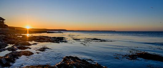 Looe Bay sunrise