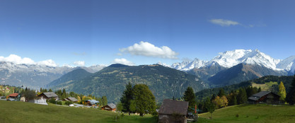 The French Alps from from Saint Nicolas