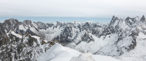 3842 Meters on the French Alps