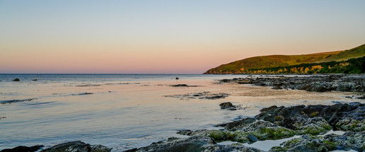 South coast sunset- Panorama
