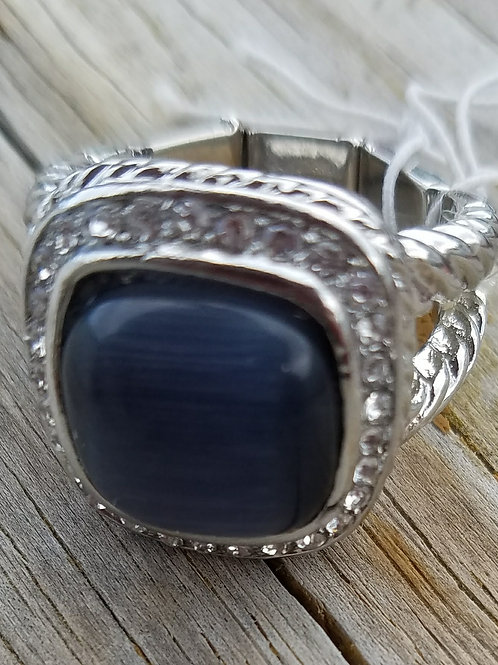 Black Stretch Ring