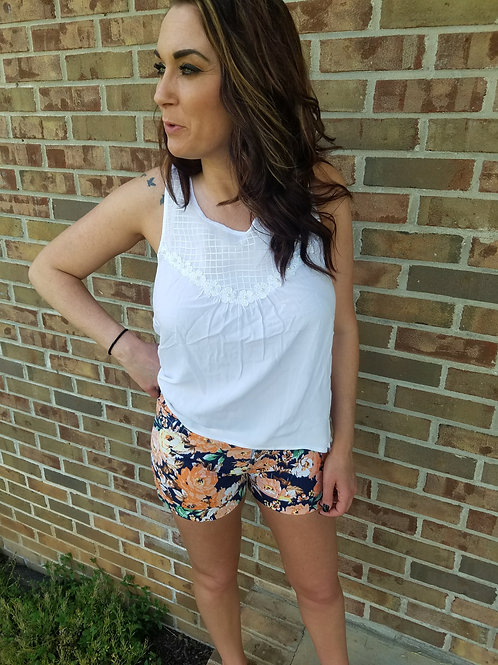 All About The Flowers Shorts
