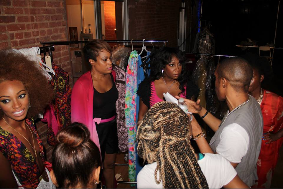 Backstage Fashion Show