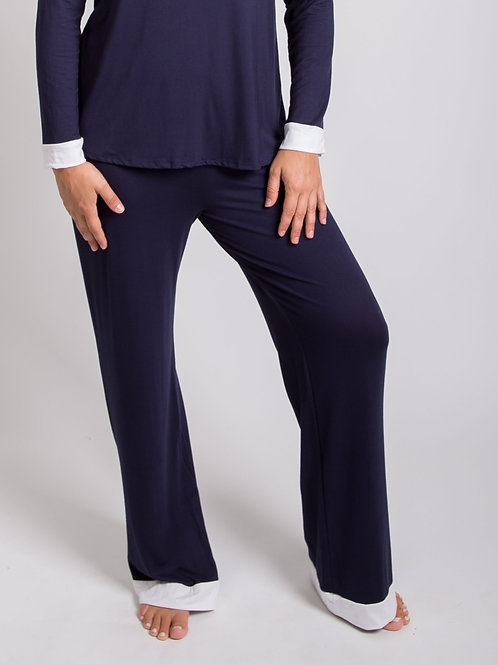 Relaxed, Wide-legged Pant,PJ all day Loungewear