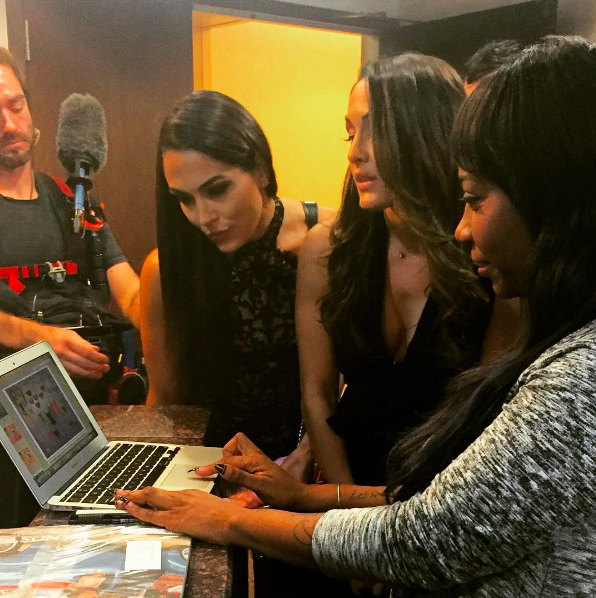 BTS Shark Tank with Bella Twins
