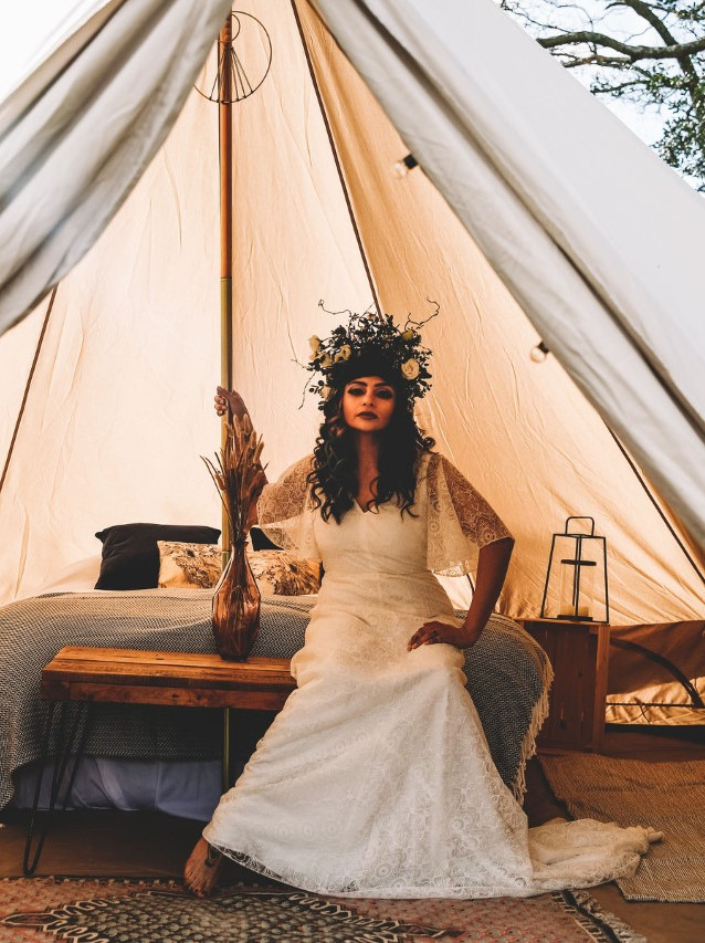 North Sky Yurt Shoot @ Little Seed Field Glamping