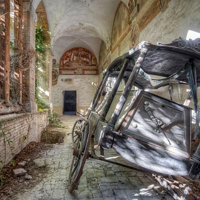Abandoned Hearses