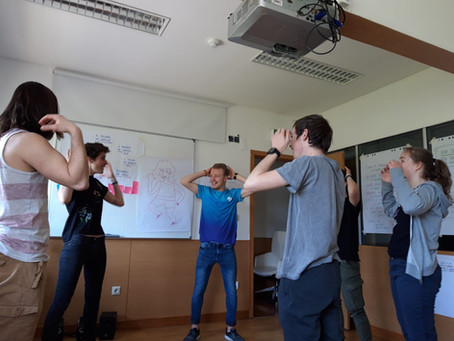Formação intercultural com escolas profissionais francesas | intercultural training for VET students