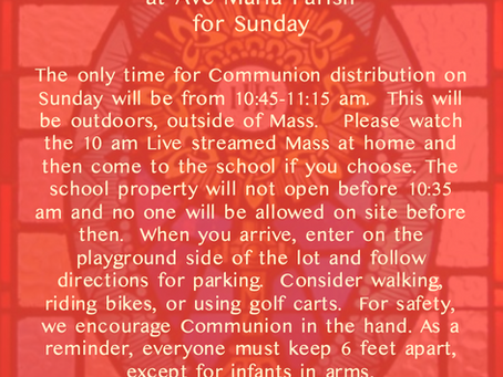 Keeping Sunday Holy - March 29, 2020