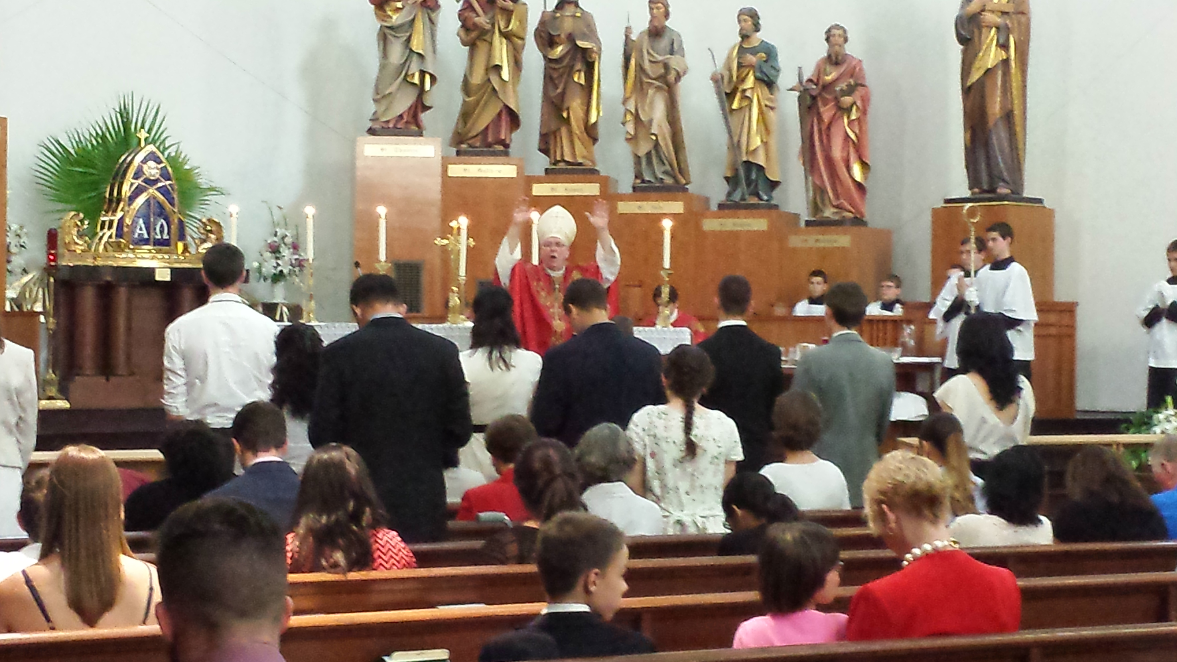 Ave Maria Confirmation 2015