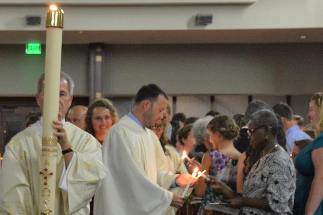Ave Maria Easter Vigil 2016