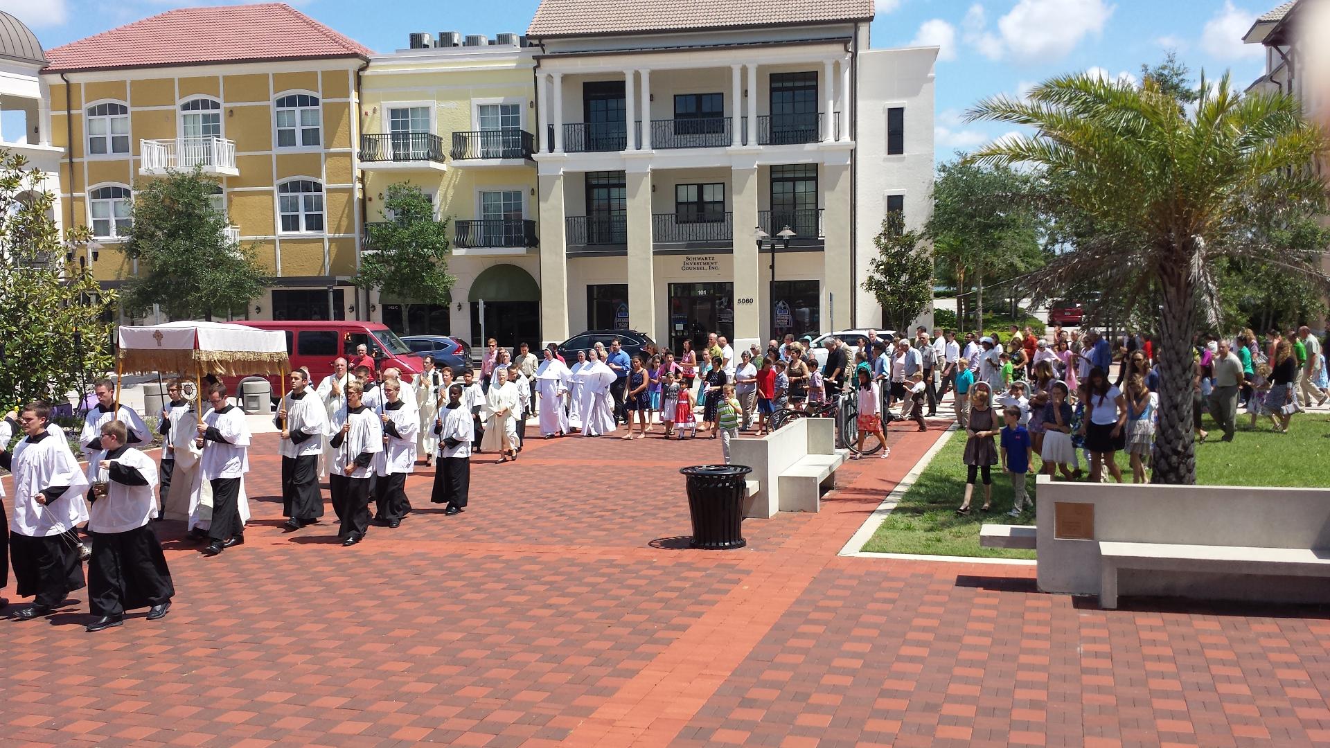 Ave Maria Corpus Christi Procession
