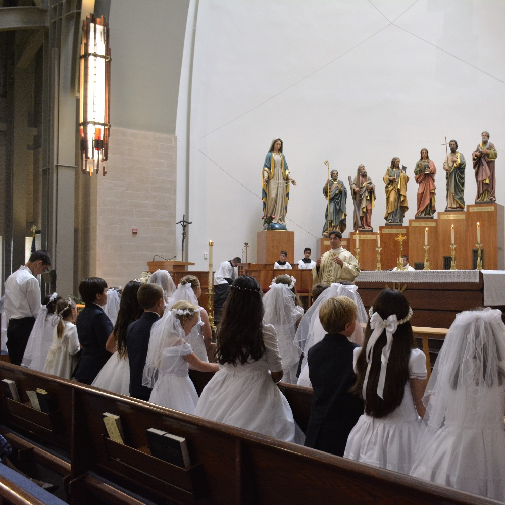 Ave Maria First Communion 2016