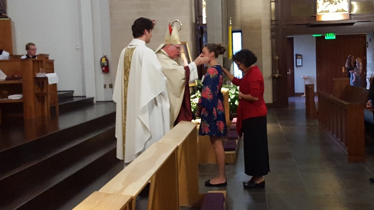 Ave Maria Confirmation 2016