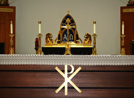 Mass for the Feast of Sts. Simon and Jude: October 28, 2020