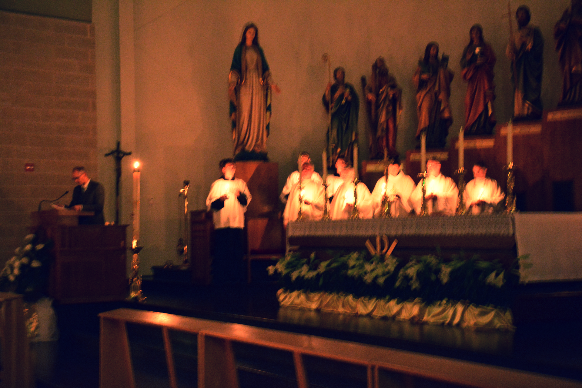 Ave Maria Quasi Parish Easter Vigil
