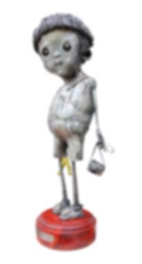 Infancia del cíclope 50x20x15cm(vendida,sold)