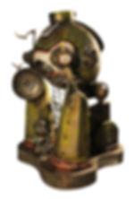 Coloso en Pausa 75x55x55cm (vendida,sold)