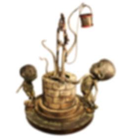 Algo Crece en el Aljibe 50x50x67cm (U$D 1.100)