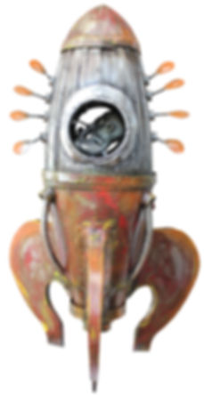 El Arca 85cmx50cmx50cm (U$D 2.000)