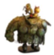 Héroe 50x50x25cm vendida (sold)