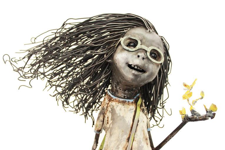 La niña de tus ojos (Dominga) 75cmx30cmx24cm