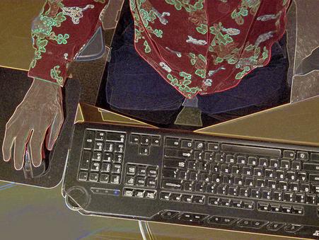 Posture Positive Set Up for Desk or Laptop