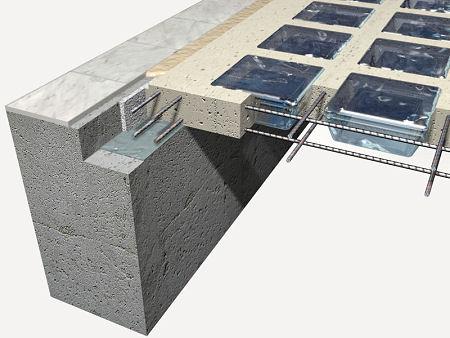 Instalación block de vidrio