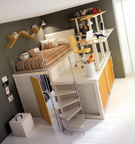 espacios para dormitorios