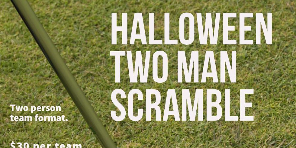 Halloween Two Man Scramble