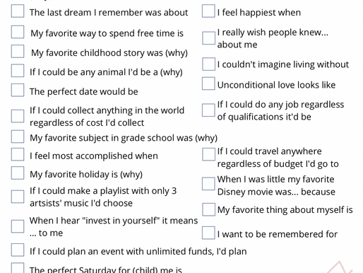 28 Journal Prompts for Self Discovery