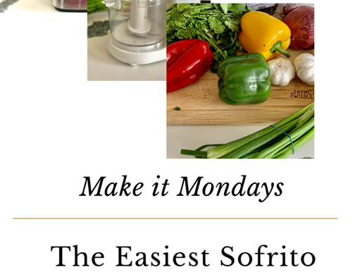 MAKE IT MONDAYS | The Easiest Sofrito You'll Ever Make