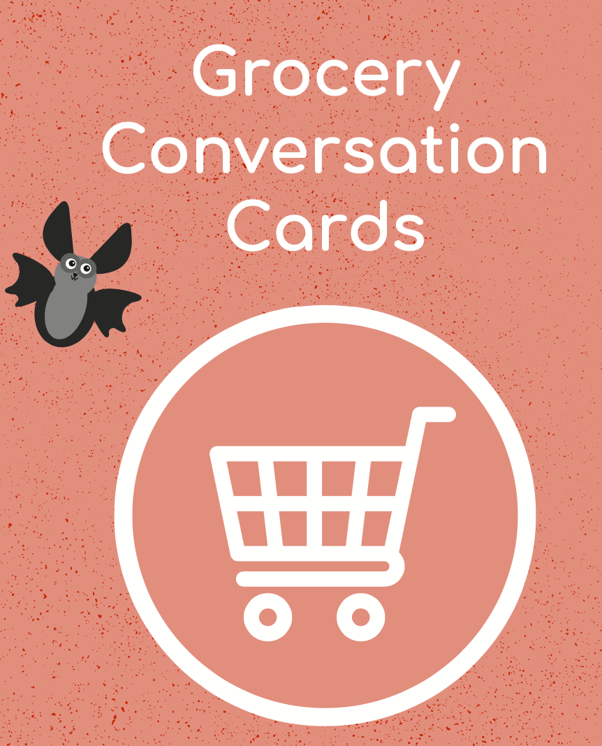 Grocery Conversation Cards