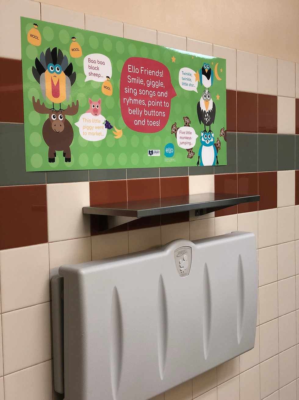 Spokane County Library: Diaper Time is Talking Time