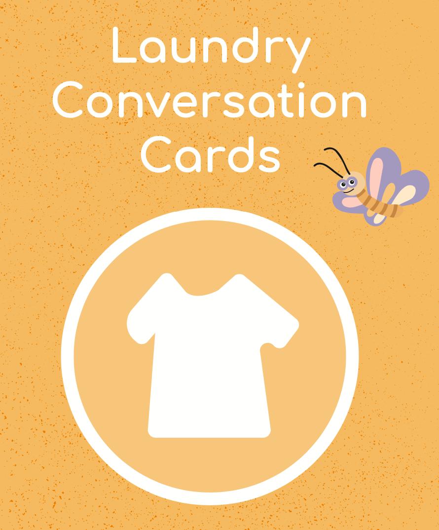 Laundry Conversation Cards