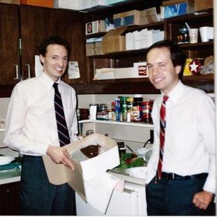 Lance and Derek Chima