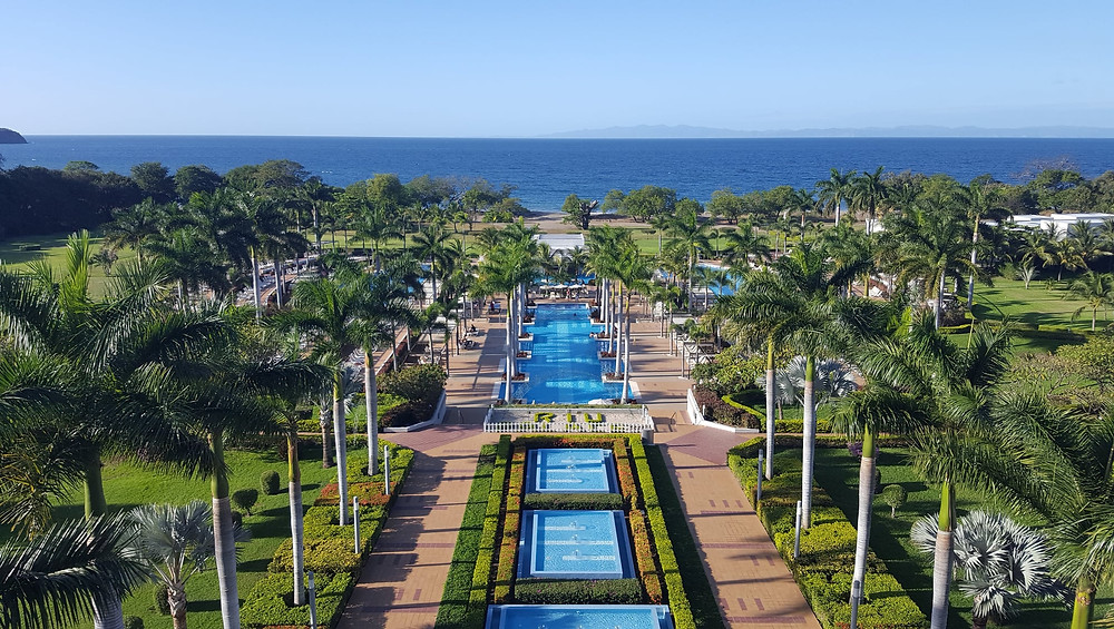 RIU Palace Costa Rica Ocean View from Room 5062