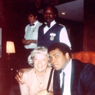 Jean Chima with Muhammad Ali - Chima Travel