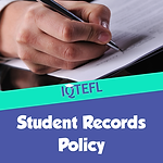IQTEFL Student Records Policy
